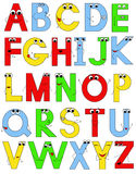 Funny alphabet Stock Photo