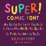 Funny alphabet Stock Photos