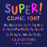 Funny alphabet Royalty Free Stock Photography