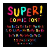 Funny alphabet Royalty Free Stock Photo