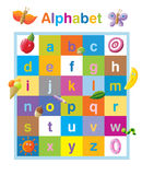 Funny alphabet lower case Stock Photo