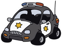 Funny American police car Stock Photo