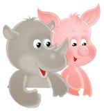 Funny animals Royalty Free Stock Photo