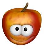Funny apple Royalty Free Stock Photo