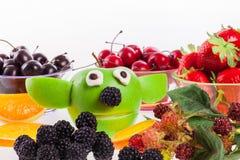 Funny Apple  Yoda Royalty Free Stock Image