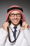 Funny arab doctor Royalty Free Stock Photo
