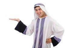 Funny arab man isolated Stock Photo