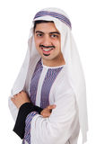Funny arab man isolated Royalty Free Stock Photos
