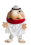 Funny arab mascot costume Stock Photos