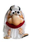 Funny arab mascot costume with moving eyes Stock Images