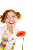 Funny artist Stock Photography