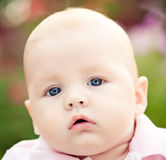 Funny baby Royalty Free Stock Photos