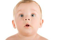 Funny baby boy Stock Photo