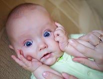 Funny baby boy Stock Photos