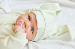 Funny baby Royalty Free Stock Photography