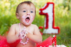Funny baby Royalty Free Stock Images