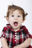 Funny baby face Royalty Free Stock Photography