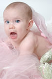Funny Baby Face Expression Stock Photo