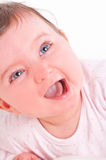 Funny baby girl. Royalty Free Stock Photography