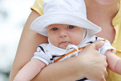 Funny baby Stock Images