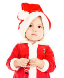 Funny baby Santa Royalty Free Stock Image
