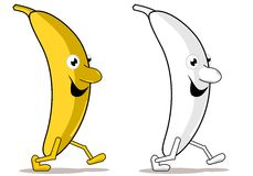 Funny banana Stock Photography