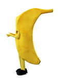 Funny banana man Stock Image