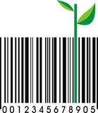Funny barcode isolated Stock Photos