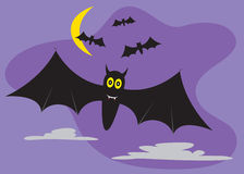 Funny bat Royalty Free Stock Image
