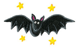Funny bat Royalty Free Stock Images