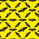 Funny bat on black background Royalty Free Stock Photography