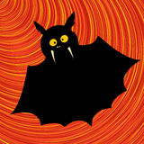 Funny bat graphic Royalty Free Stock Photo