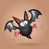 Funny Bat Vector Royalty Free Stock Photography