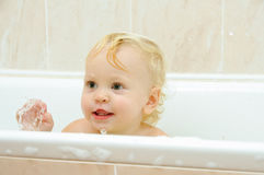 Funny bath Stock Photography