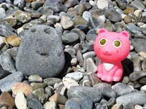 Funny beach toys Royalty Free Stock Images