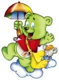 Funny bear Stock Image