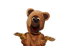 Funny bear costume Royalty Free Stock Photography