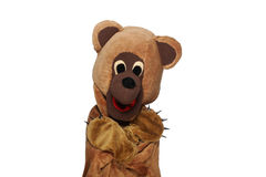 Funny bear costume Stock Photography