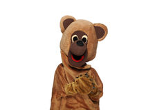 Funny bear costume Royalty Free Stock Image