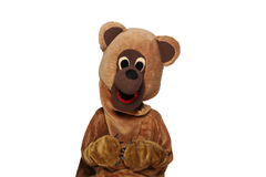 Funny bear costume Stock Image