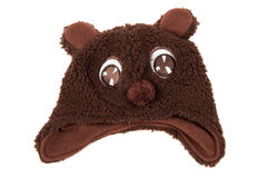 Funny bear hat for children,  Royalty Free Stock Photo