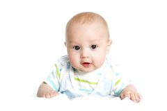 Funny beautiful baby 4 Royalty Free Stock Image