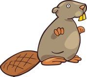 Funny beaver Stock Photography