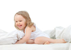 Funny bed Stock Photography