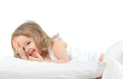Funny bed Stock Photos