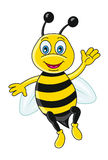Funny bee Stock Photography