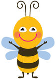 Funny bee Royalty Free Stock Photography