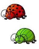 Funny beetles Royalty Free Stock Photography
