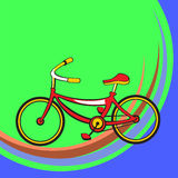 Funny bicycle Stock Photography