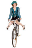 Funny biking Royalty Free Stock Images